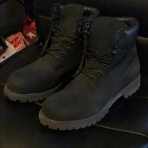 Premium Timberland Boots (Black) Mens Sz 10 1/2